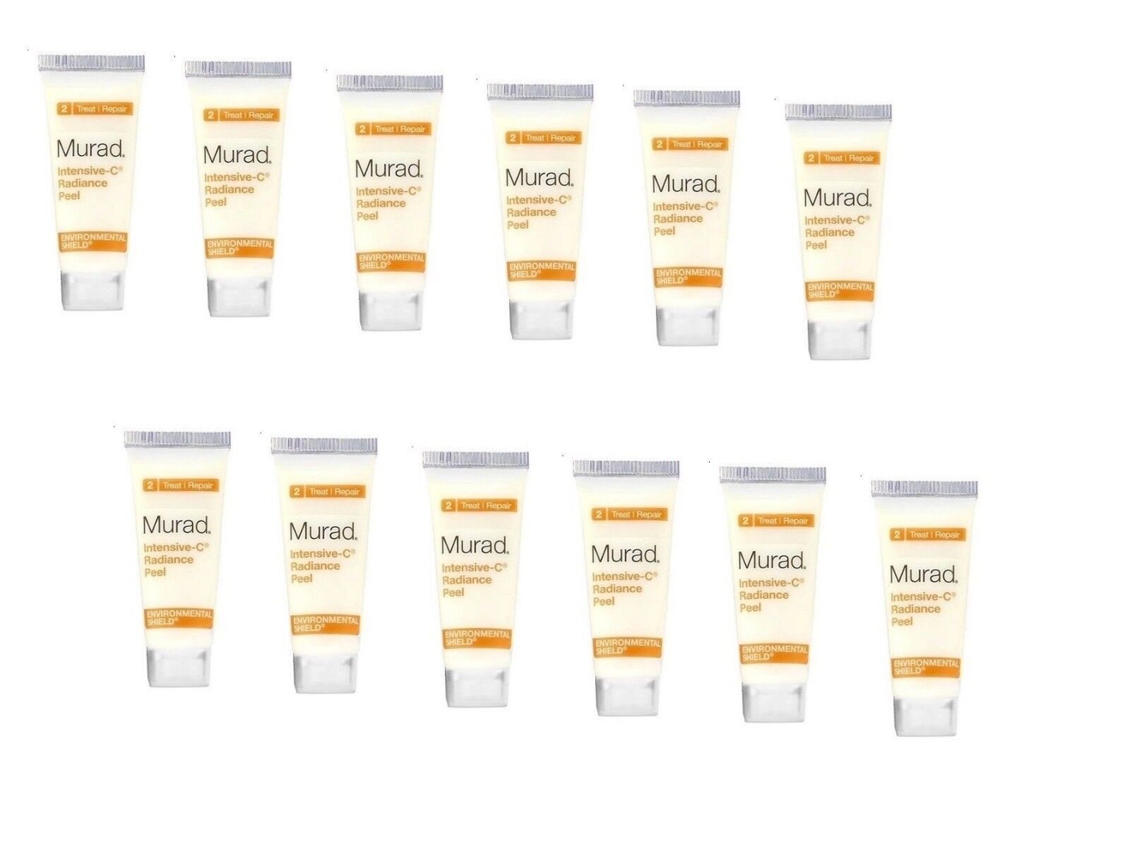 Travel Size Murad  Intensive-C Radiance Peel Set 12 Items 0.
