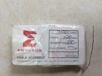 Endevco 3061 Cable 330f Piezoelectric Accelerometer Calibration Vibration
