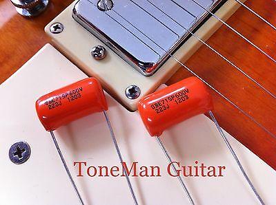 Pair - .022uf  Orange Drop Tone Caps - Capacitors