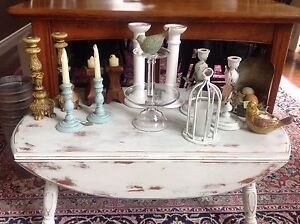 Farm house candle sticks and decor