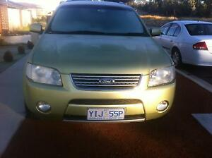 2004 Ford Territory Wagon Gungahlin Gungahlin Area Preview