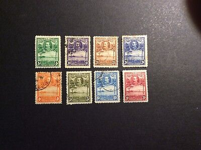 Sierra Leone 1932 A part Used set to 1/- (1/- = MM)