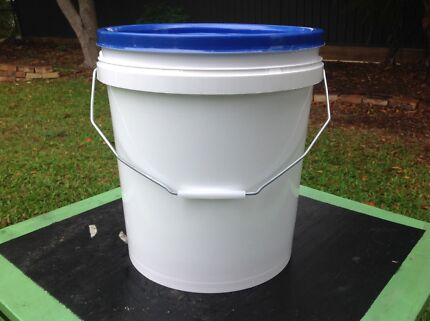 Buckets!!! Great for storage or fishing