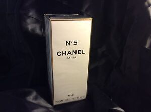 CHANEL NO 5 PARIS AUTHENTIC LARGE TALC, BODY POWDER, 150 g HIGHLY PURFUMED NEW