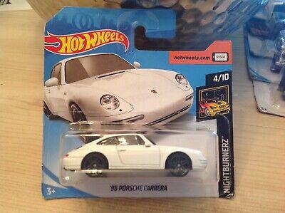 hot wheels cars 96 Porsche Carrera
