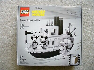 Minnie Mouse Ideas (LEGO Ideas Disney - Steamboat Willie 21317 - Mickey Mouse Minnie Mouse -)