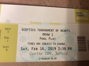 Scotties Tournament of Hearts Curling Tickets