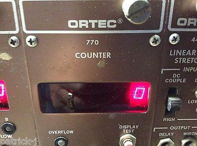 Ortec Egg Nim Computer Module Model 770 Counter