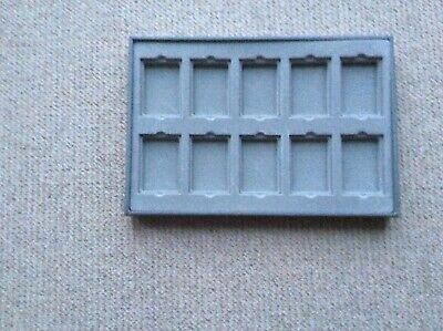 Lyncos jewellery display trays inserts grey used 10 pockets per pad used Display-trays