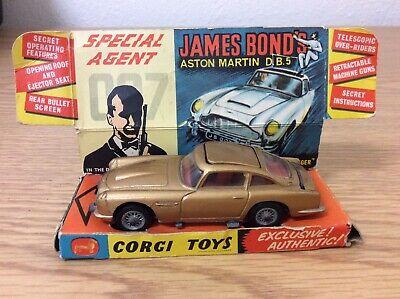 Corgi 1960s James Bond Aston Martin DB5 ORIGINAL