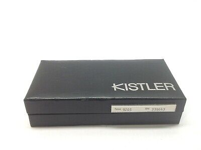 Kistler 9203 Low Force Piezoelectric Load Cell High Sensitivity Force Transducer