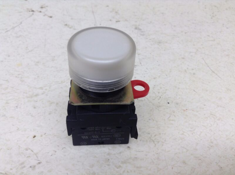 Omron A22-TN White Illuminated Indicator Light Lamp A22TN