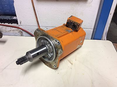 ABB Robotic 3HAB-4040-1/5 Servo Motor, PS 130/6-90-P-PMB-3737, CONNECTOR DAMAGE