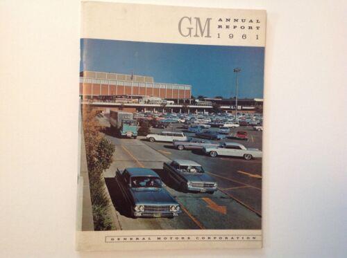 General Motors 1961 Annual Report