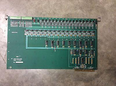 Kearney Trecker Mm800 Milling Machine Input Isolator Board 1-21281