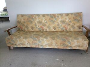Retro 1950's Vintage sofa bed and lounge chairs Johns River Greater Taree Area Preview