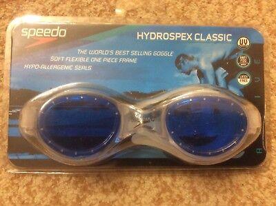 f7c2af095a9f SPEEDO Hydrospex swim goggles. UV Protection. NWB