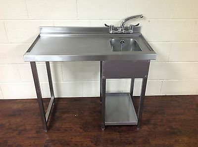 Glasswash Bar Station, Stainless Steel, Bar Sink, Anti drip