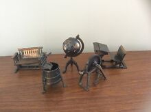 Huge lot Hong Kong brass pencil sharpeners and dolls furniture Wyreema Toowoomba Surrounds Preview