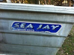 SeaJay nomad tinnie and 8hp Johnson Caboolture Caboolture Area Preview