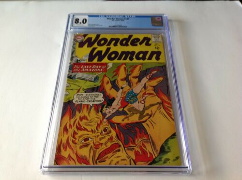 WONDER WOMAN 149 CGC 8.0 LAST DAYS OF THE AMAZONS FLAME CREATURE DC COMICS