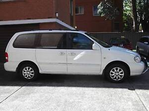 2004 Kia Carnival Wagon West Ryde Ryde Area Preview