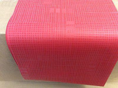 """Tischdecke Mitteldecke 84x84 cm """"rot """"aus Papier 100 Stück Duni Dunisilk"""