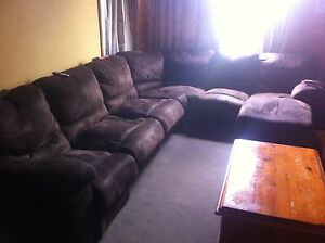 Corner 6 seater with chaise Leongatha South Gippsland Preview