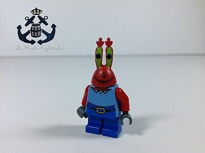 Lego Spongebob Squarepants Minifigure 2006 Mr. Krabs bob005 For Krusty Krab