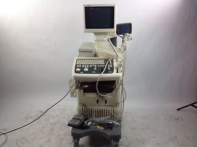 Atl Ultramark 400 Ultrasound W Cla 3540 6.5 Mhz Probes And Footswitch