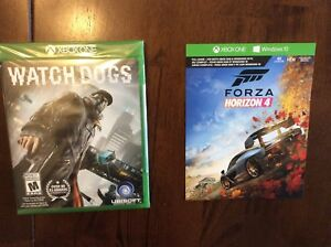 Forza Horizon 4 game code and watch Dogs