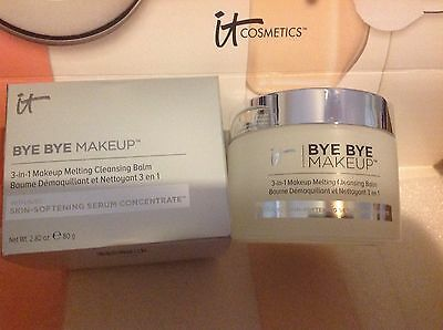 IT COSMETICS 3 IN 1 MAKEUP MELTING CLEANSING BALM 2.82 OZ WITH BOX