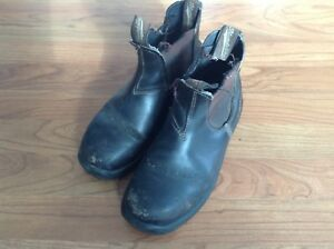 Steel toe Blundstones size 8.5 women's