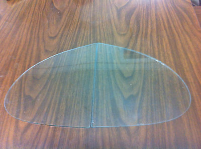 Triplex RH AND LH No Draught Vent Window Glass May Fit Italian or English Cars