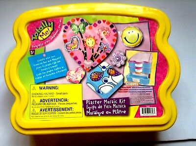Totally Me! Plaster Mosaic Kit Create Your Own Treasure Box & Magnets