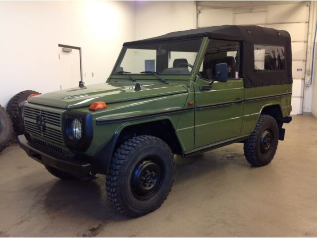 1987 mercedes benz g240 4x4 diesel restored cabriolet g500 for Used g class mercedes benz for sale
