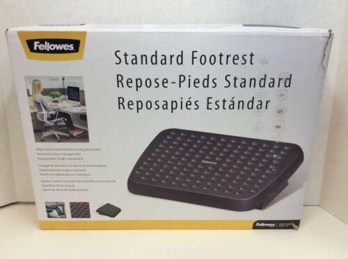"Fellowes 48121 Standard Foot Rest, 3.75"" x 17.63"" x 13.13"", Graphite"