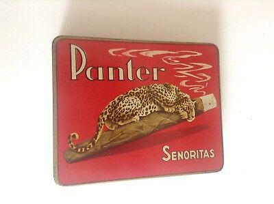 Ancienne boite à cigares Panter Senoritas TBE