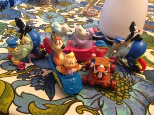 Vintage 1993 McDonalds Warner Bros Animaniacs Happy Meal Toy Figure LOT *WoW*