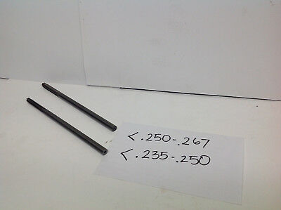 1 Lot Of 2pcs1pc .235-.2501pc .250-.267solid Carbide Step Reamers 745-d-2