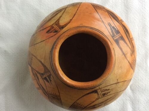 Early Hopi Nampeyo of Hano Seed Jar Pottery