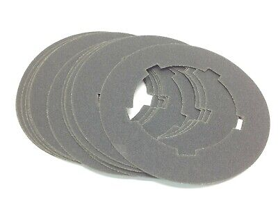 Sanding Disc 80 Grit 8-34 Dia. 5-18 Id Lot Of 12