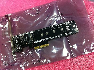 ASUS HYPER M.2 X4 MINI  ACCESSORY FOR Z170 PREMIUM,RAMPAGE V EDITION 10 ORIGINAL