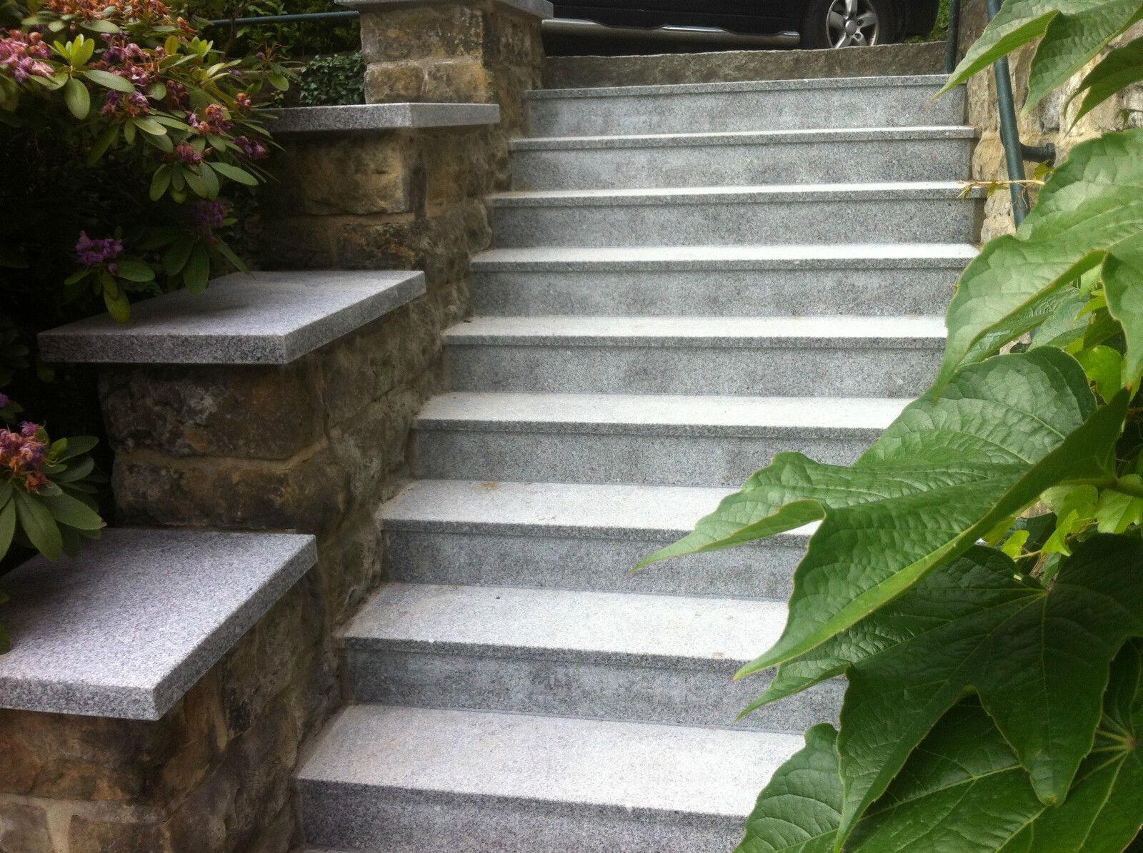 mauerabdeckung naturstein grau granit abdeckplatte mauer pfeilerabdeckung 4cm eur 84 99. Black Bedroom Furniture Sets. Home Design Ideas