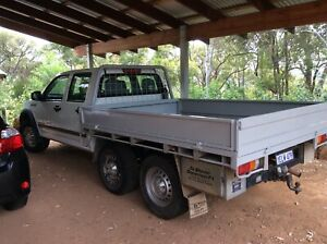 6 Wheeler 2004 Holden Rodeo Lx (4x4) 5 Sp Manual C/chas