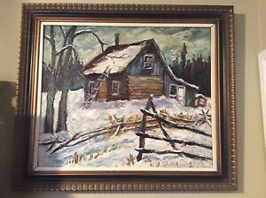 Large Ross Robertshaw Oil Painting