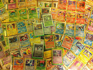 THE $9.95 Pokemon 50 Card Lot-35 Common + 10 Uncommon + 5 Rare-EX/NM-FREE SHIP