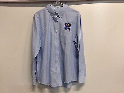 New Cintas Comfort Inn Hotel Motel Work Uniform Long Sleeve Shirt Size 18 Reg