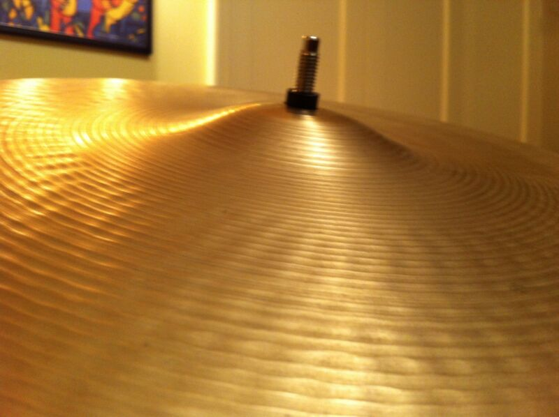 """BEST PRICE! ACT NOW! RARE! Vintage Sabian Mini-Bell Ride Cymbal 20"""" 2880 grams"""