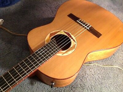 R.J. DiCarlo Jazz nylon string guitar hand made classical electric